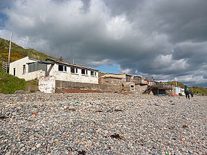 Nethertown - Image: Beach Houses (geograph 3509157)