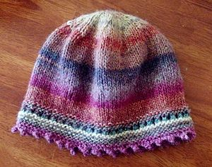 Lion Brand - Beanie made from Lion Brand yarns