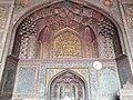 Beautiful 'mimbar' space of Wazir Khan Mosque.jpg