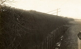 Becher's Brook - Becher's Brook before the modifications were made to the fence