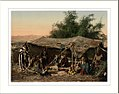 Bedouin tents and occupants Holy Land.jpg