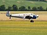 Beechcraft Model 18 - Flying Legends 2016 (28227387845).jpg