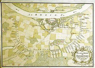 Siege of Kaiserswerth - The Allied siege plan
