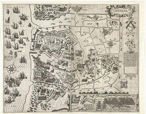 Beleg van Oostende in de jaren 1601-1602