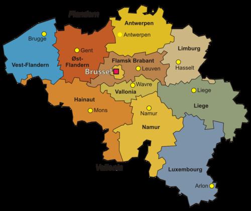 provinser i italia kart