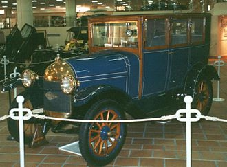 Bellanger (automobile) - Bellanger 1921