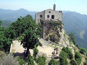 Santuario de Nuestra Señora de Bellmunt, verano de 2004.