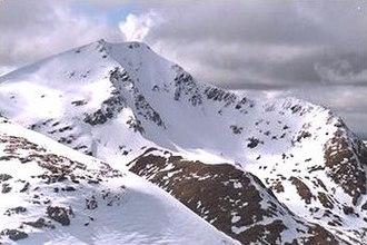 Ben Lui - Coire Gaothaich on the northern side of Beinn Laoigh