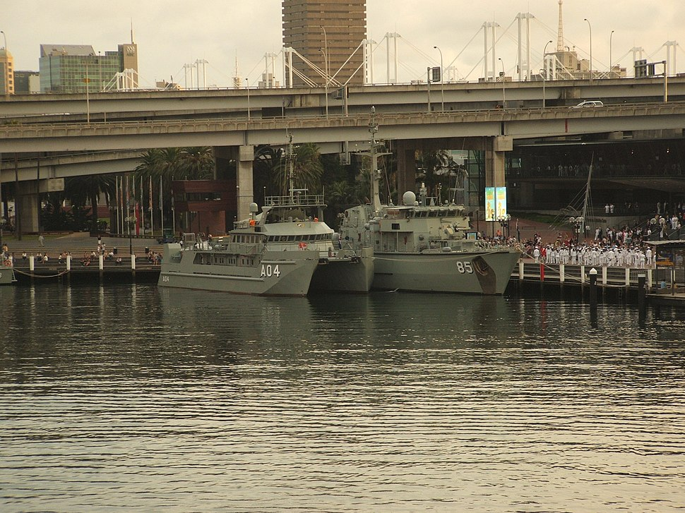 Benalla and Gascoyne at Darling Harbour