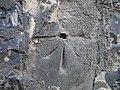 Bench mark on St Peter Hungate church, Norwich - geograph.org.uk - 2061929.jpg