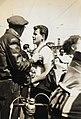 Benno Funda nach der Zielankunft einer Etappe der 7. Friedensfahrt 1954 im Ernst- Thälmann- Stadion Karl- Marx- Stadt.jpg