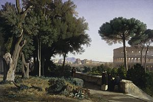 Jean-Achille Benouville - Image: Benouville Colosseum Viewed from the Palatine