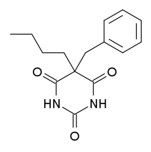 Benzylbutylbarbiturate