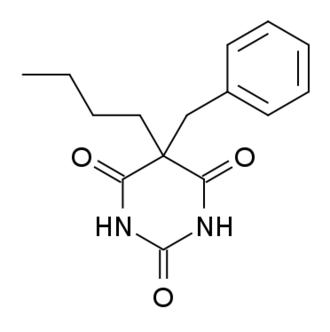 Benzylbutylbarbiturate - Image: Benzylbutylbarbitura te