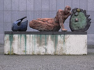 Markus Lüpertz - The Fallen Warrior, 1994, in Bonn
