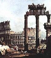 Bernardo Bellotto, Capriccio Romano, Colosseum.jpg