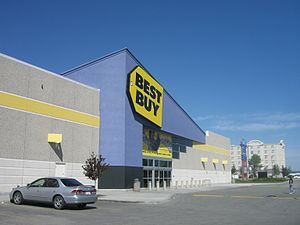 Best Buy Store in Edmonton, Canada