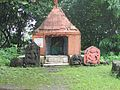 Bhavani Temple at the bottom of Karnala fort.jpg