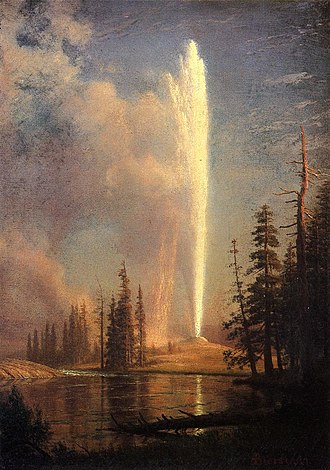 Old Faithful - Image: Bierstadt Albert Old Faithful