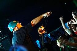 """Big Cyc, koncert w studenckim klubie """"Pod Palmą"""" w Rzeszowie (październik 2006)"""