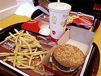 An image of a Big Mac combo meal.