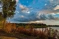Big Woods Lake Campground Sunset, Cedar Falls, Iowa (36274555390).jpg