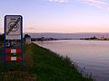 Binnenkomst Lekkerkerk via dijk vanaf Krimpen aan de Lek CIMG9555.JPG