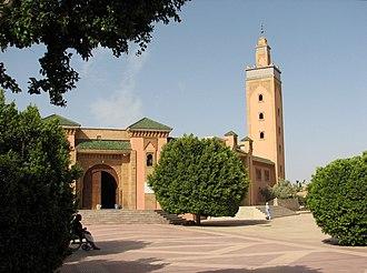 Biougra - Image: Biougra Mosque al Jazouli