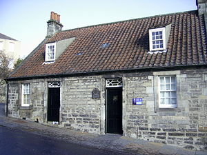 English: Andrew Carnegie's birthplace, 4 Moodi...