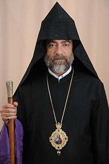Sebouh Chouldjian Archbishop Sebouh Chouldjian is the primate of the Diocese of Gougark of the Armenian Apostolic Church