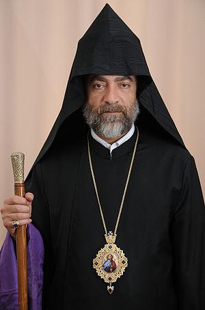 Diocese of Gougark - Archbishop Sebouh Chouldjian, Primate of the Diocese of Gougark