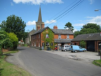 Bishops Cannings - Image: Bishops Cannings, The Crown Inn geograph.org.uk 1406871