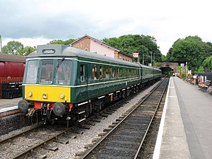 British Rail Class 115 - A set preserved on the West Somerset Railway