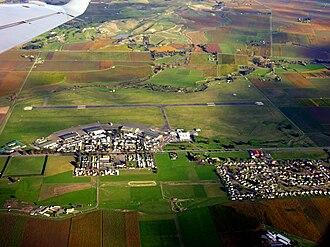 Woodbourne Airport - Image: Blenheim Airport Marlborough New Zealand