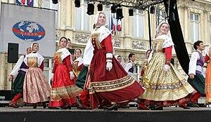 Bleuniadur - Bleuniadur, Folk Art Ensemble, in CIOFF festival in 2004