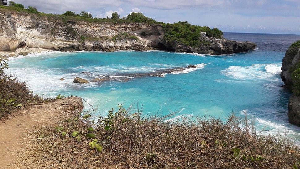 Nusa Lembongan ラグーン、バリ島、インドネシア
