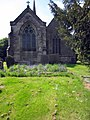 Bluebells in Holy Trinity churchyard, Normanton-le-Heath (geograph 3484196).jpg
