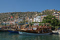 Boat in the harbour of Alanya.jpg