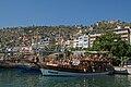 Boat in the harbour of Alanya.jpg