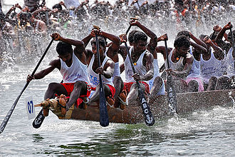 Vallam Kali - Boat race with snake boats