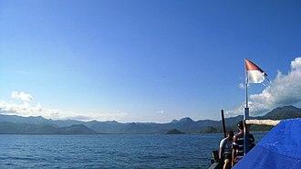 Trenggalek Regency - Image: Boat view of Prigi gulf