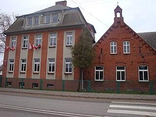 Bobowo Village in Pomeranian Voivodeship, Poland