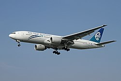 Boeing 777-200ER der Air New Zealand