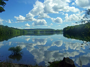 Bog Brook Reservoir - Image: Bog Brook Reservoir