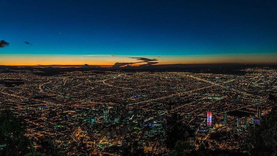 Bogotá, Nocturna