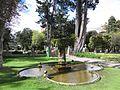 Bogotá fuente en el Parque del Chicó.JPG