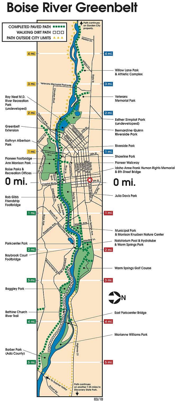 FileBoise Greenbelt Mapjpg  Wikimedia Commons
