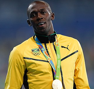Usain Bolt Jamaican sprinter and soccer player