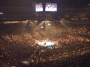 Yokohama Arena - K-1 World Grand Prix 2008 Final in Yokohama Arena.