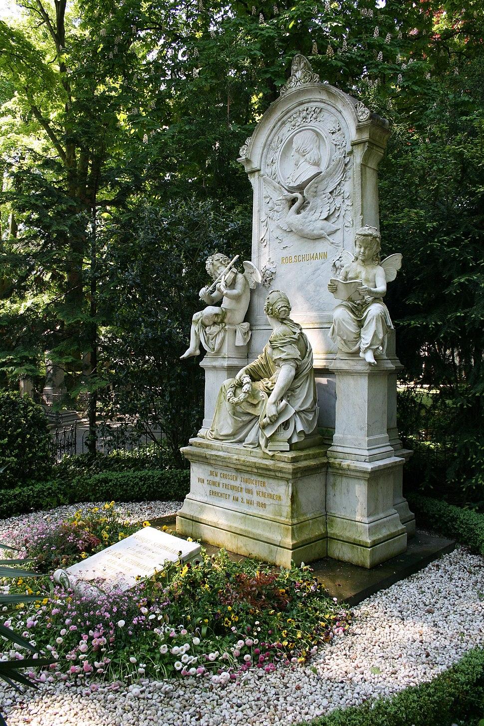Bonn graveyard robert schumann 20080509